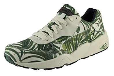 buy popular 7334f 639af Puma R698 EVO X HOH PALM Chaussures Mode Sneakers Homme Vert Blanc