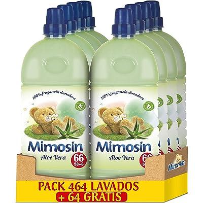 Mimosín Concentrado Suavizante Aloe Vera 66lav x 8botellas