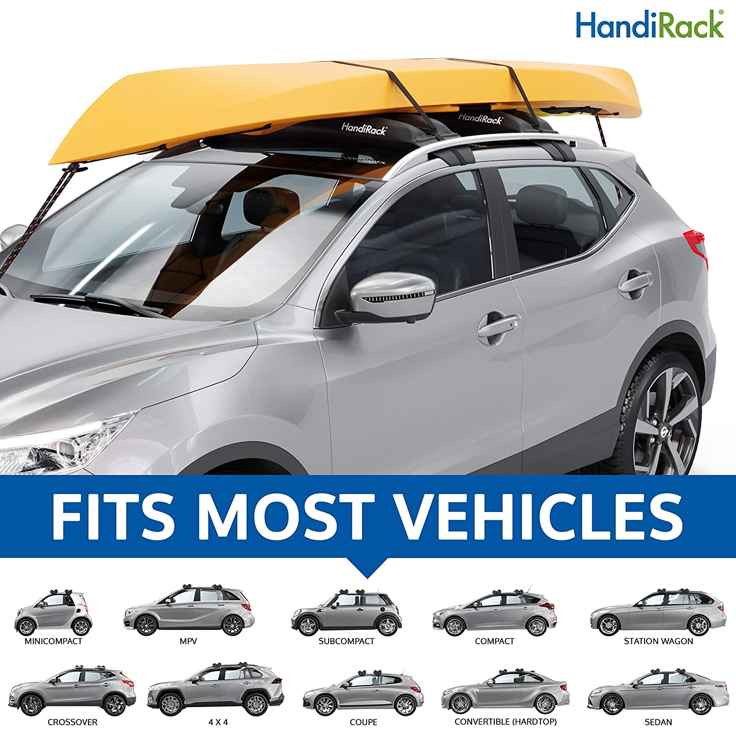 HandiRack Universal Inflatable Roof Rack Bars}