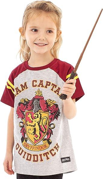 New Kids Childrens Top Harry Potter Quidditch Tshirt Red