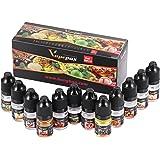Vapepax 電子タバコリキッド Liquid 5ml×12本セット 最高品質の天然食品成分 ノンニコチン・ノンタール・ノン有害物質 0mg 食品衛生法認証済