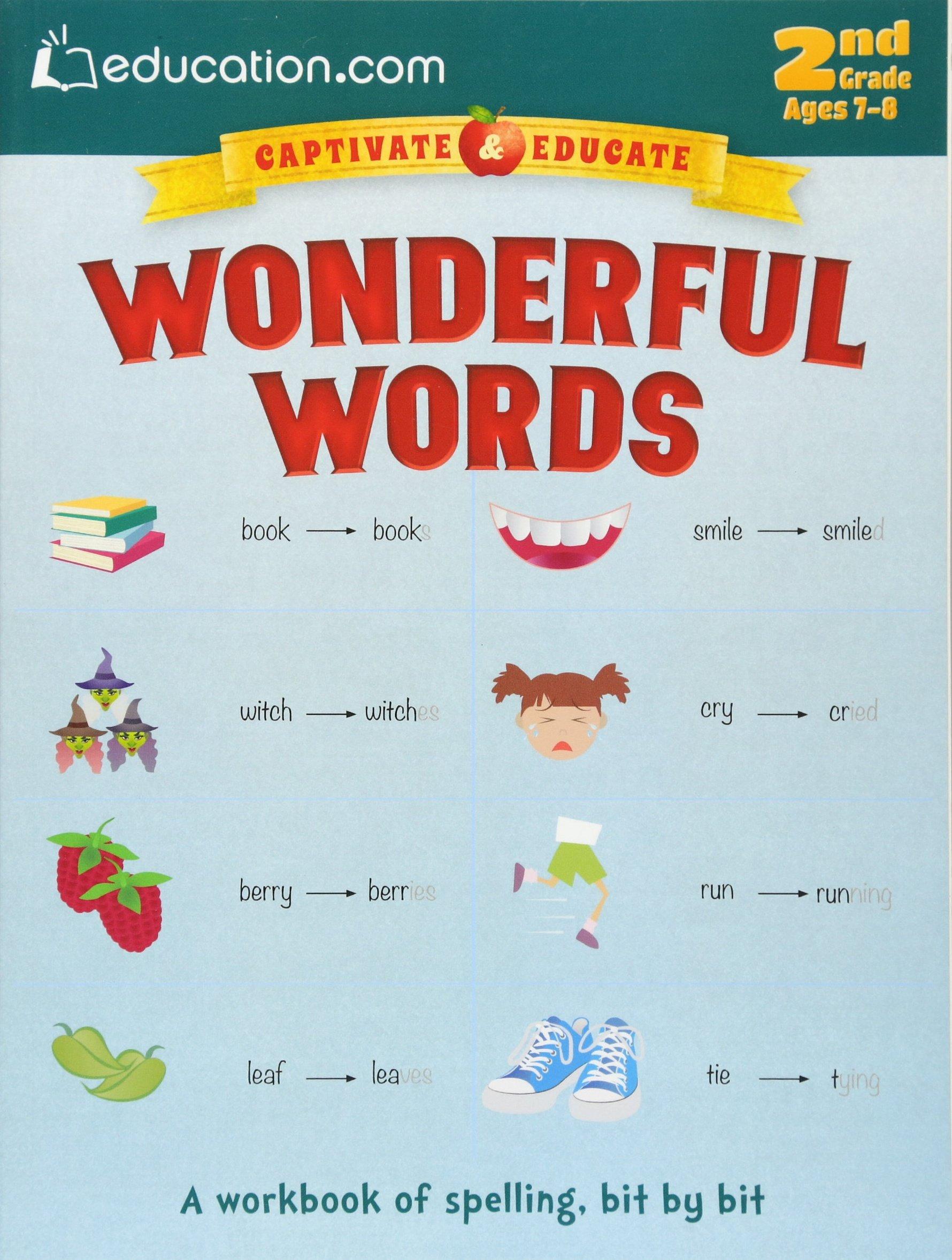 Download Wonderful Words: A workbook of spelling, bit by bit (Captivate & Educate) pdf epub