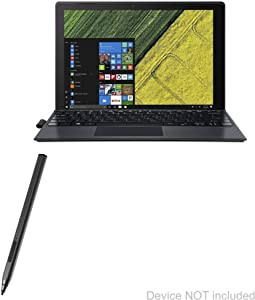 Acer Switch 5 (SW512-52) Stylus Pen, BoxWave [ActiveStudio Active Stylus] Electronic Stylus with Ultra Fine Tip for Acer Switch 5 (SW512-52) - Jet Black