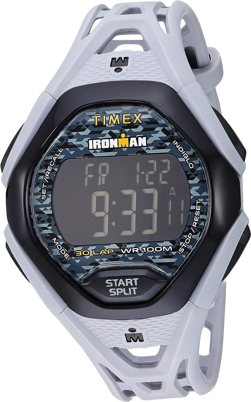 Timex Men's Ironman Sleek 30 Resin Strap Watch