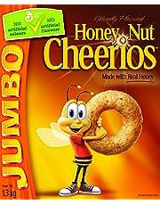 Cheerios Honey Nut Jumbo Cereal, 1.3-Kilogram ( Pack of 2)
