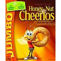Cheerios Honey Nut Jumbo Cereal, 1.3-Kilogram