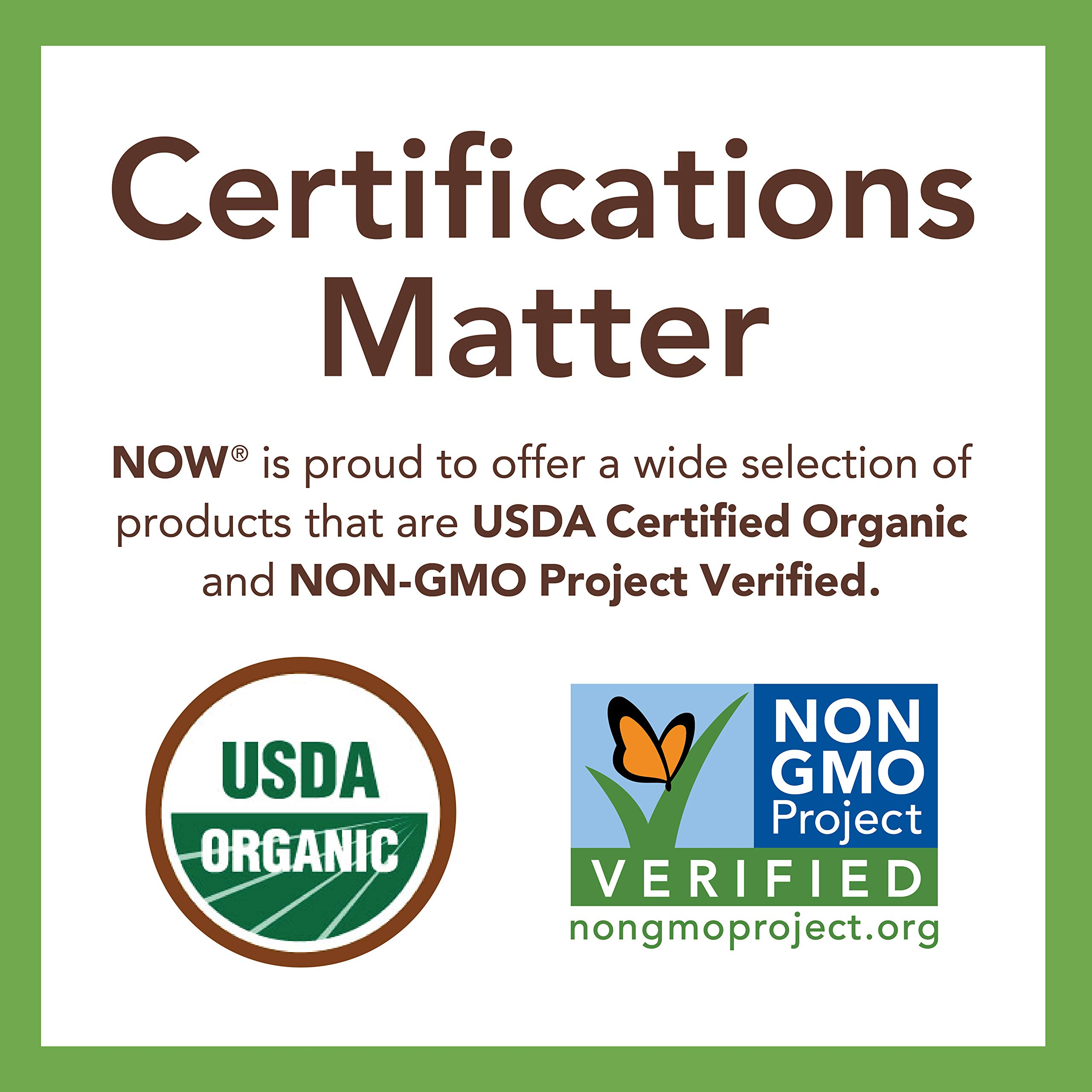 NOW Foods, Certified Organic Maple Syrup, Grade A Dark Color, Certified Non-GMO, Pure, Robust Taste, 64-Ounce by NOW Foods (Image #6)