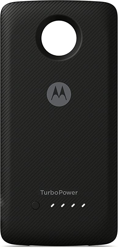 Motorola Moto Mod TurboPower - Pack de 3490 mAh de fijación para teléfonos Moto Z, Color Negro (Certificado renovado): Amazon.es: Electrónica