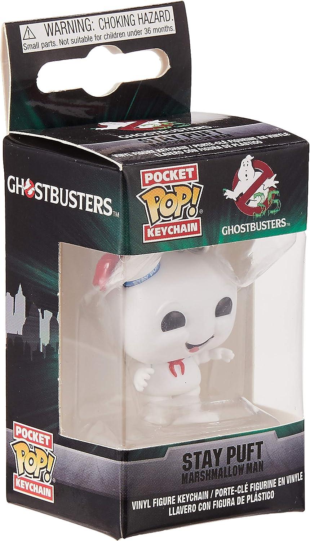 Portachiavi Ghostbusters 35° Stay Puft Marshmallow Pocket Pop Vinyl KeyChain