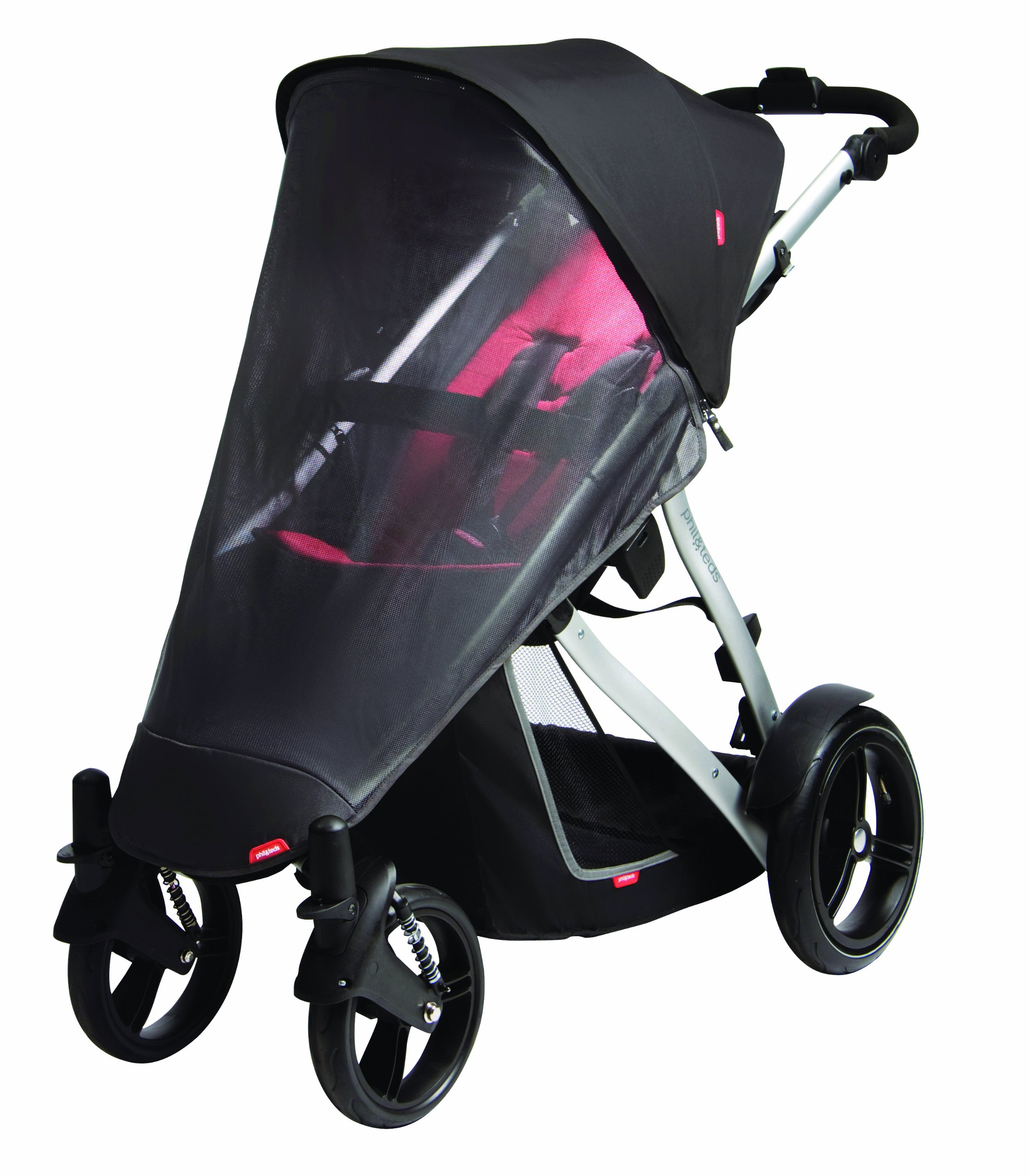 Phil&Teds Uv Mesh Cover For Vibe, Vibe 2 Or Verve Single Stroller