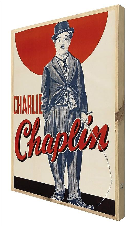 CCRETROILUMINADOS Charlie Chaplin Cartel Vintage Iluminado ...