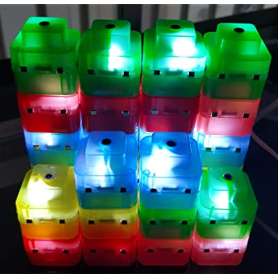ElectroCubes - Build Your own Night Light with 30 Magnetic Light up Cubes: Kitchen & Dining