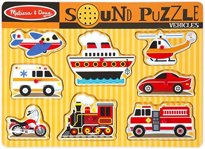 VEHICLES SOUND PUZZLE: Game: Amazon.co.uk: Toys & Games