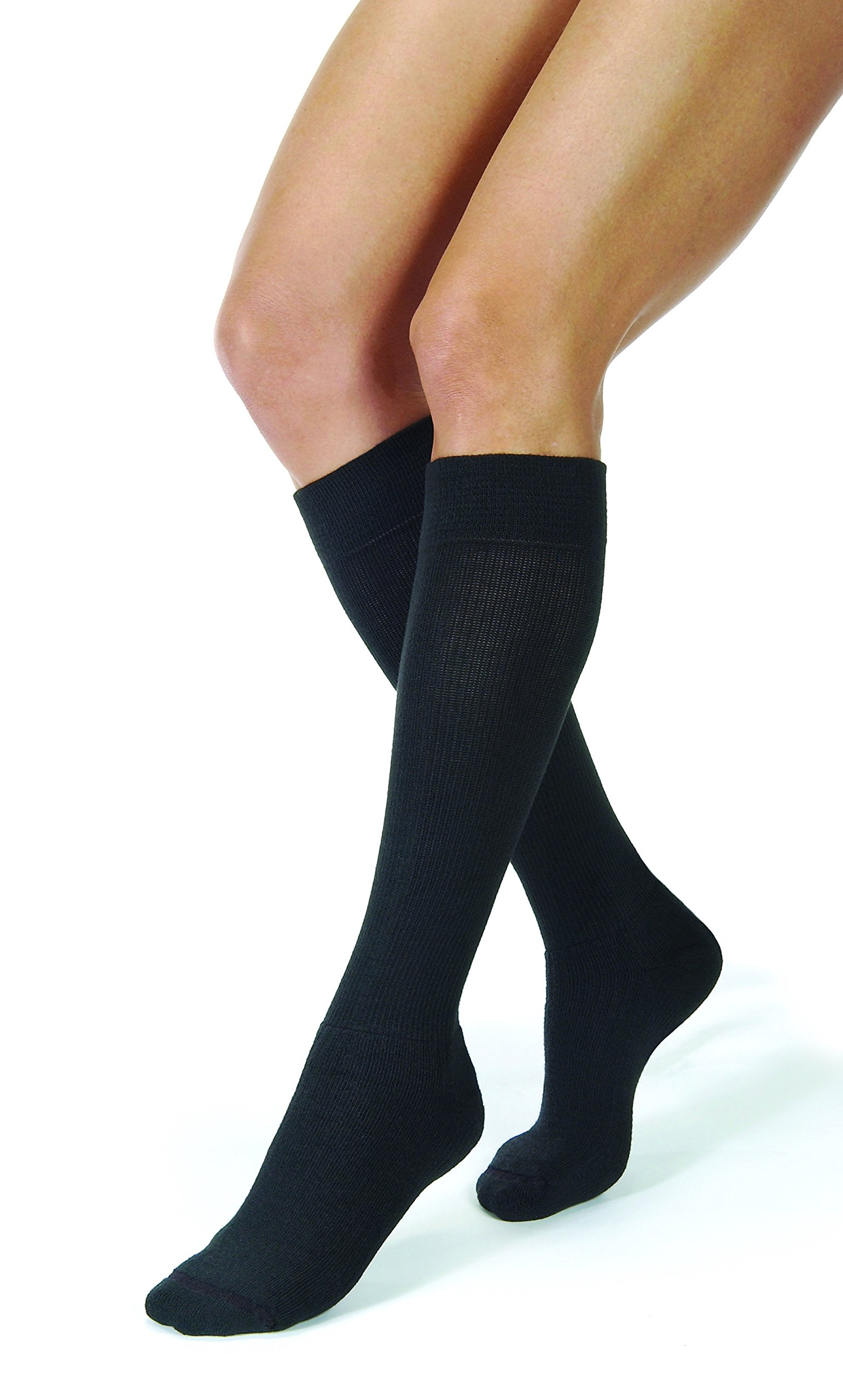 50a88f109d3 Amazon.com  Jobst For Men Firm Support Over-the-Calf Dress Socks ...