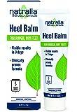 Natralia Heel Balm, 2 Ounce Tube - Smoothes & Softens Dry, Cracked Heels & Feet with Shea Butter, Rosemary Oil, Safflower Oil, Aloe Vera, Vitamin E & L-Arginine