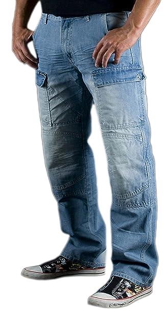 Juicy Trendz Hombre Motorcycle Moto Cargo Jeans Protección Forro Pantalón Incluye Armaduras