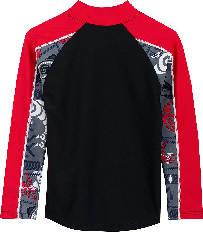 Swimsuit UPF 50 Tuga Boys Two-Piece Long Sleeve Top /& Swim Diaper Set