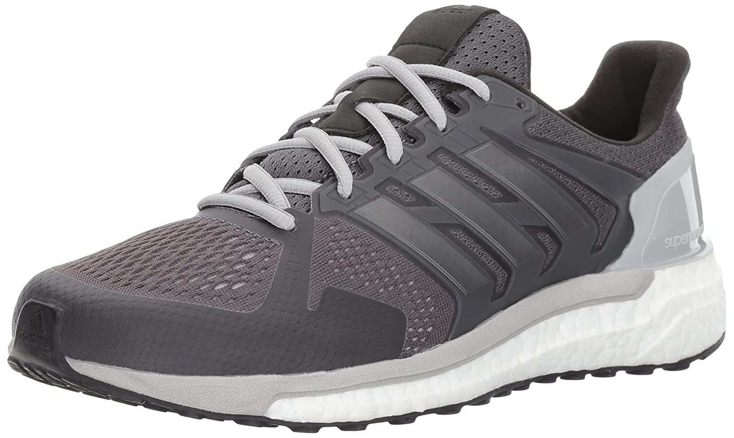adidas Women's Supernova St W Running Shoe B01NBBX1B9 6.5 B(M) US|Grey Five/Night Metallic/Black