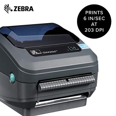Amazon.com: Zebra - GK420d Impresora térmica directa para ...