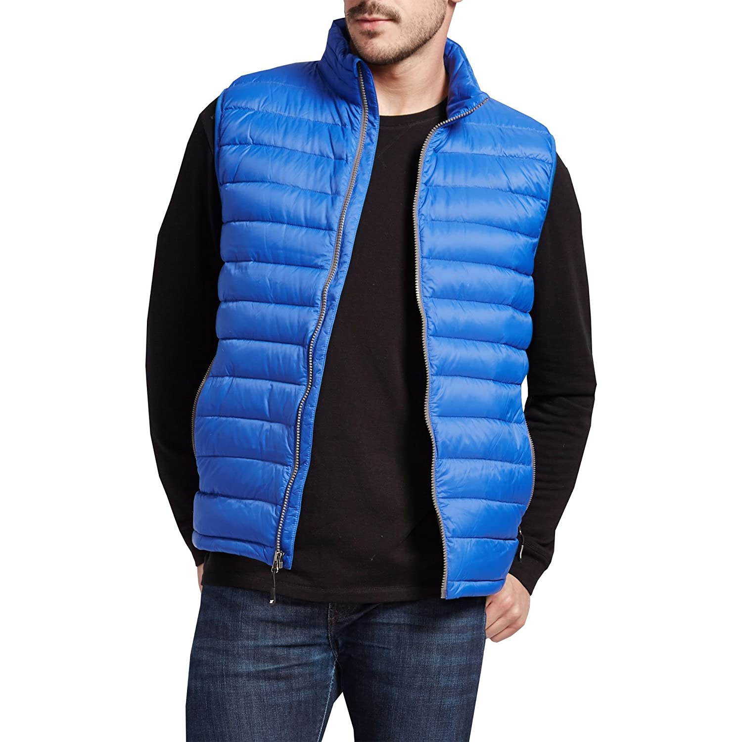 32 Degrees Weatherproof Men's Down Packable Vest With Storage Bag ...