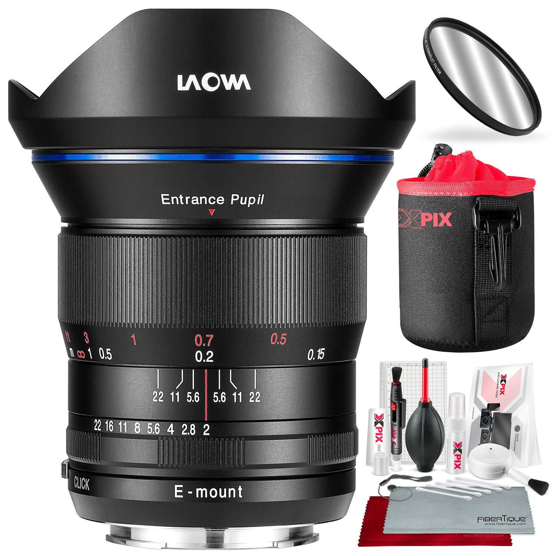 Venus Laowa 15mm f/2 FE Zero-Dレンズ Sony E用 保護レンズポーチとアクセサリーバンドル付き   B07LDSN62J