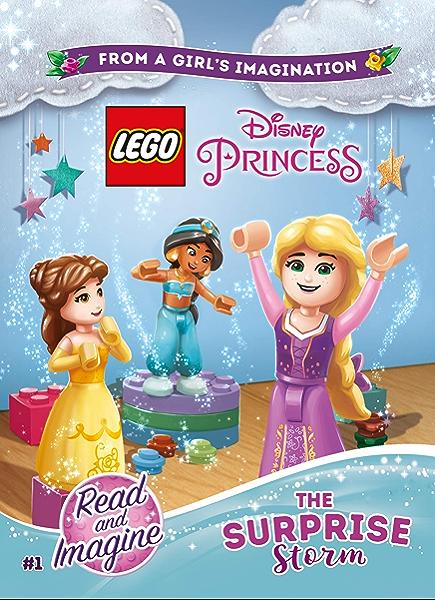 Lego Disney Princess The Surprise Storm Chapter Book 1 Lego