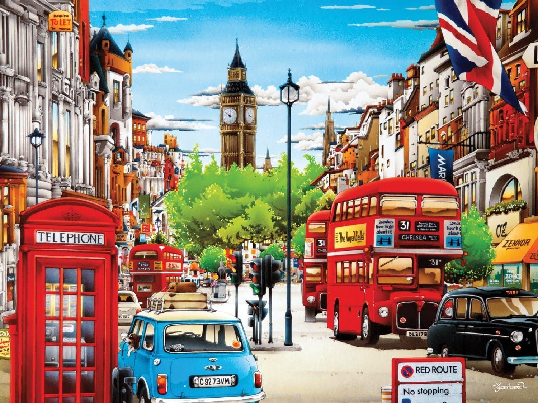Ceaco Weekend Escape London Puzzle