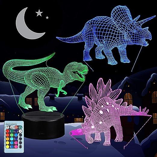 Dinosaur 3D Night Lamp