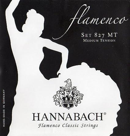 Hannabach 827MT - Cuerdas para guitarra clásica 827MT: Amazon.es ...