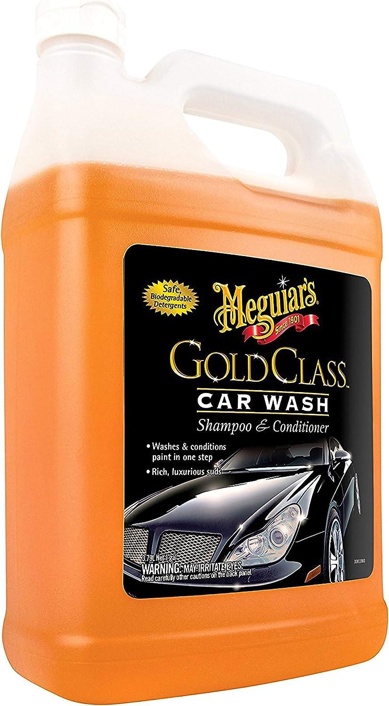 Meguiar's G7101FFP Gold Class Car Wash - 1 gallon: Automotive