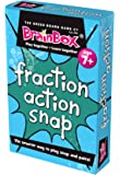 Green Board Games Fraction Action Snap