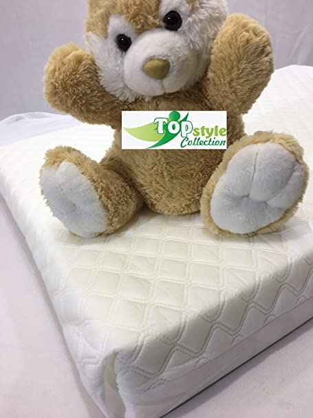 Baby Toddler Cot Bed Fully Breathable Foam Mattress /& Waterproof Cover All Sizes 120 x 60 x 5