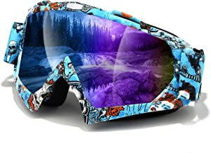 Dirt Bike Goggles, Windproof Motorcycle Goggles