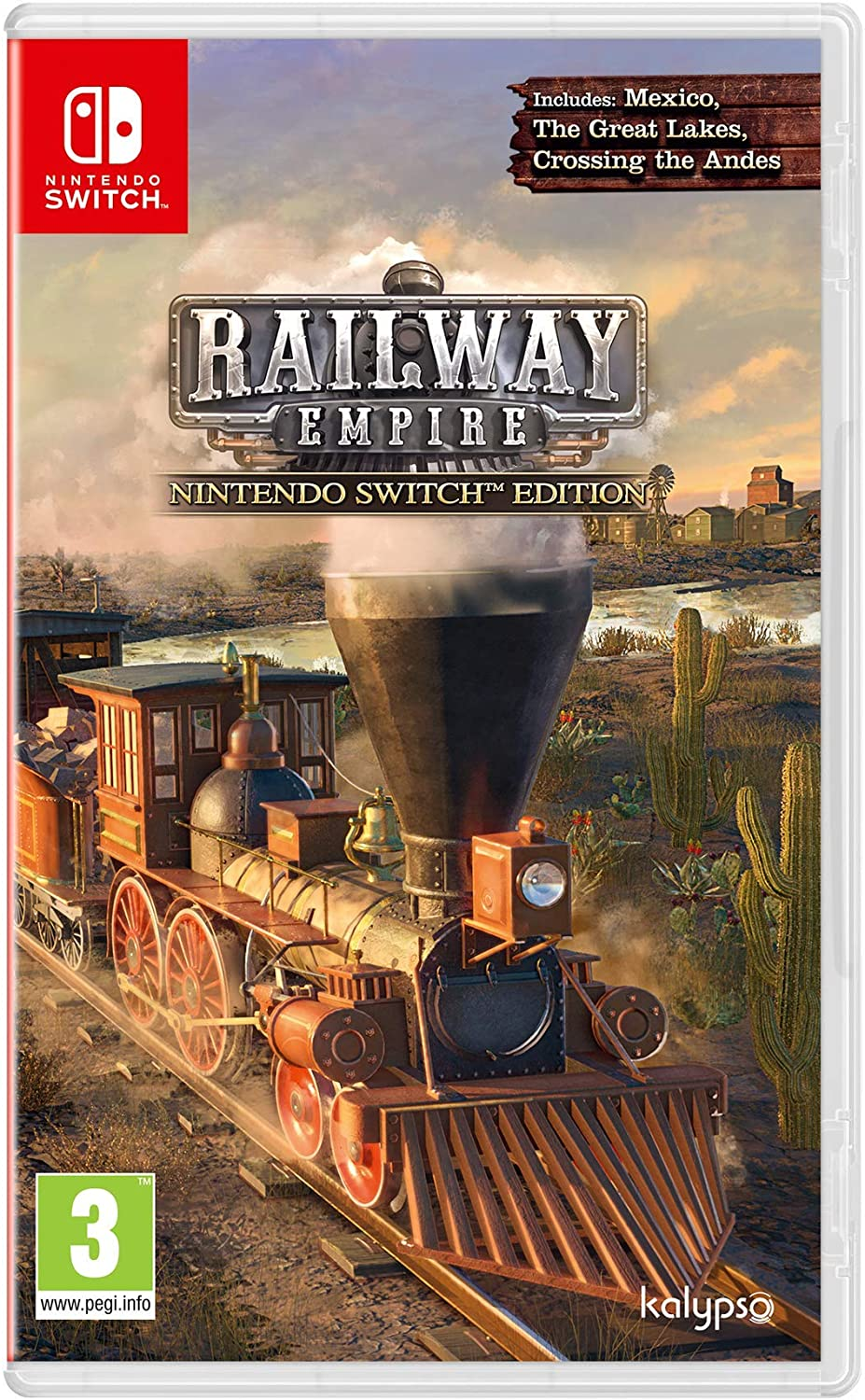 Railway Empire - Nintendo Switch Edition: Amazon.es: Videojuegos