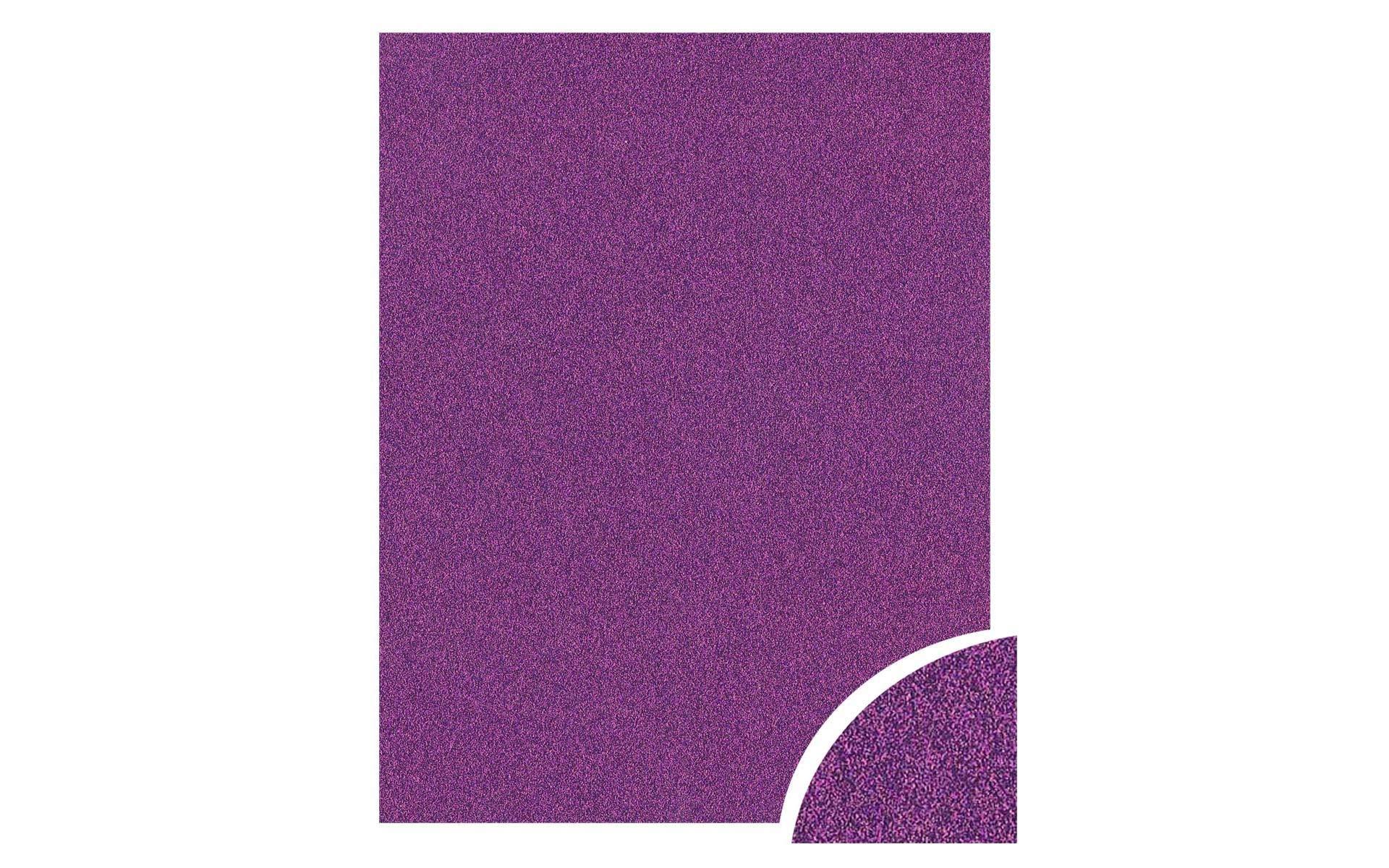 Paper Accents Cdstk Glitter 22x28 85lb Grape Jam UPC