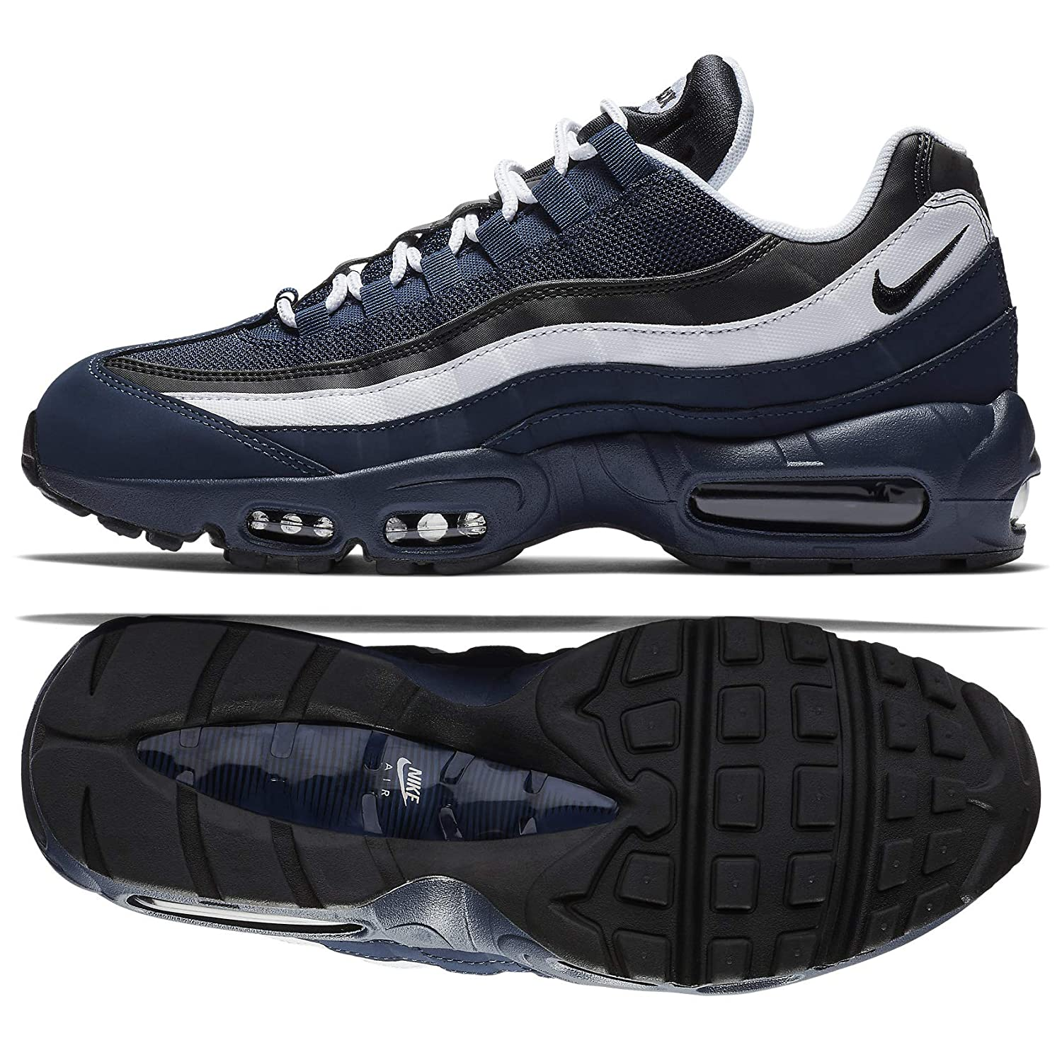 discount shop great fit cheap prices Amazon.com | Nike Air Max 95 Essential 749766 408 Midnight ...