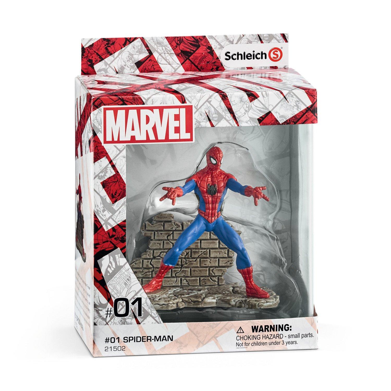 Schleich 21502 Spiderman Spider Man Multicoloured Amazon Co Uk