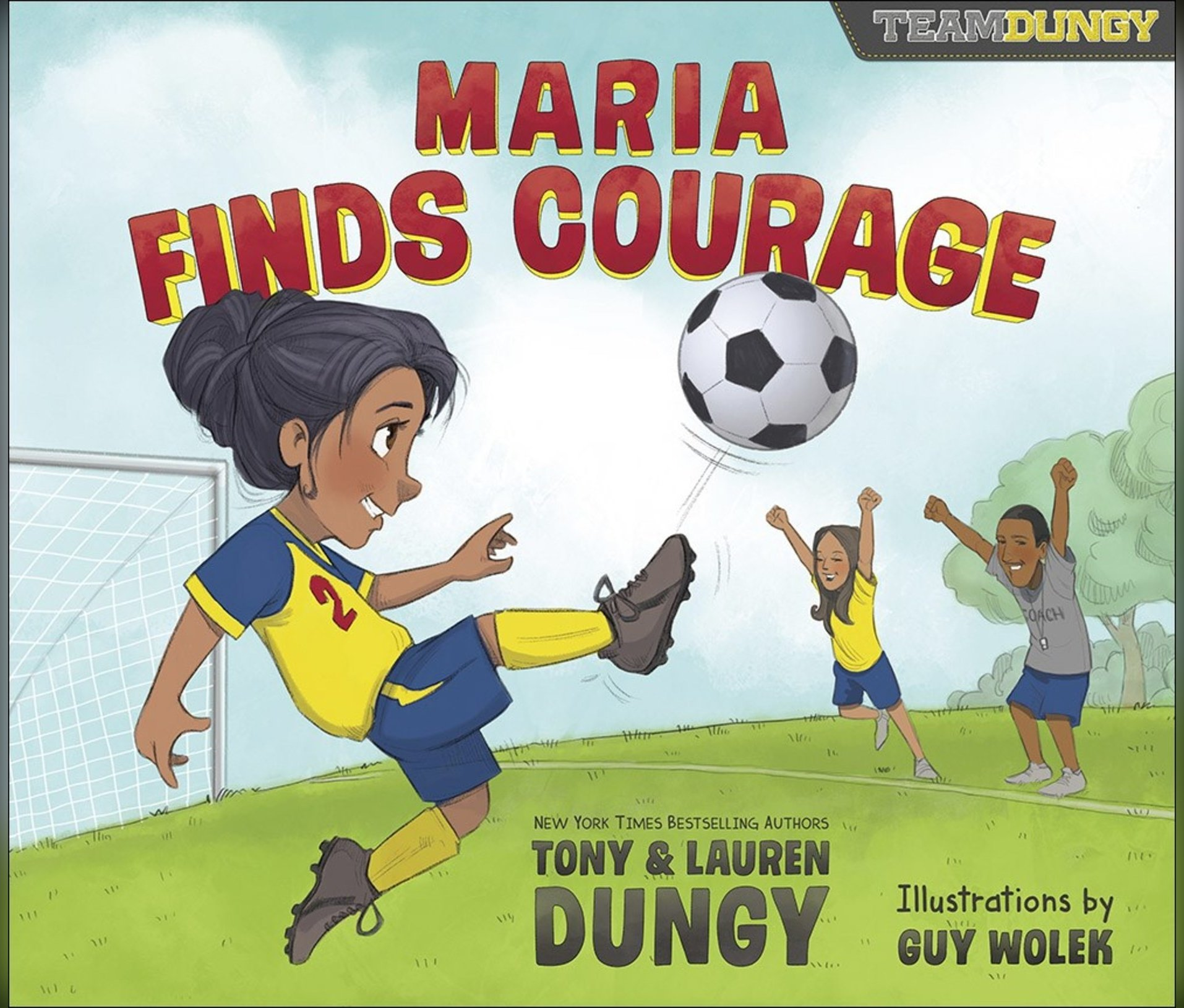 Download Maria Finds Courage: A Team Dungy Story About Soccer pdf