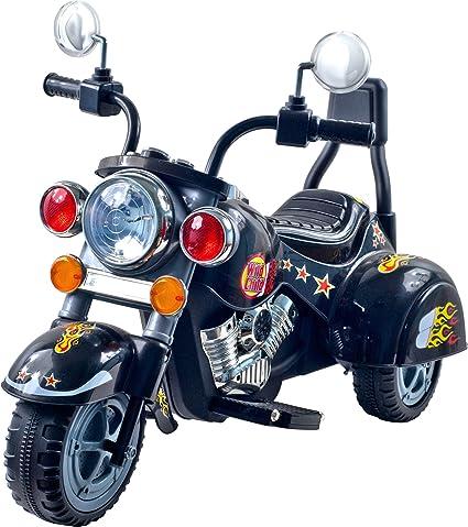 Amazon.com: Motocicleta Chopper de 3 ruedas para niñ ...