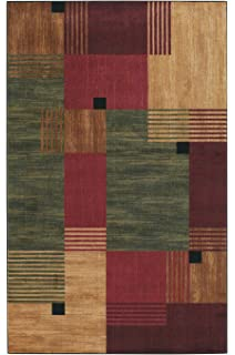 mohawk home new wave alliance geometric printed area rug - Mohawk Area Rugs