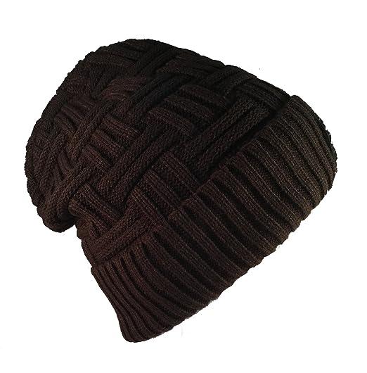 ac18f290589e5 Amazon.com  EZ Gifts INC Soft Slouchy Beanies knit Warm Winter ...