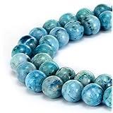 brcbeads 华丽天然宝石光滑圆散珠 variation 颜色和材质用于珠宝制作
