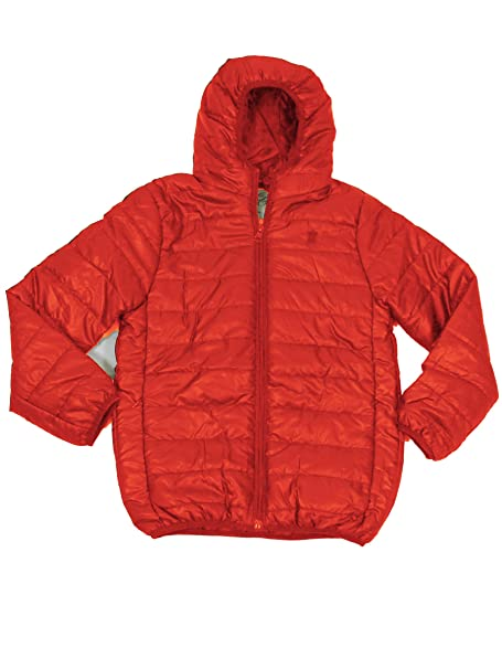 Soul Star Kids Hester Hood Packaway Down Effect Puffa Jacket