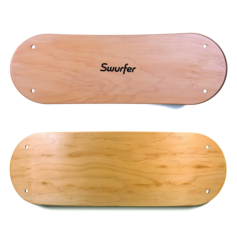 amazon com the swurfer original tree swing with skateboard seat
