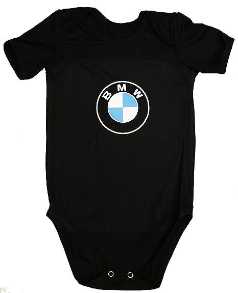98049798c OTO-MOTO BMW Traje Body Bebe Logotipo Etiqueta Pegatinas de la Camiseta Logo  Negro de