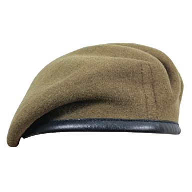 f3a928a3 Epic Militaria British Wool Beret - Royal Military Police, Khaki (Honorable  Artillery),