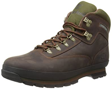 Timberland Euro Hiker Eurohiker Leather, Boots homme, Marron, 47.5