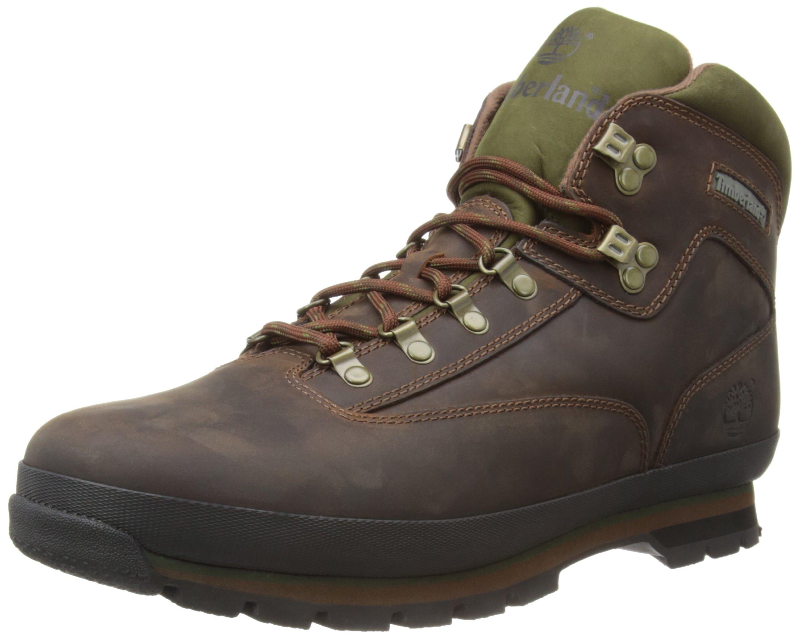 Timberland Men's Euro Hiker Boot,Brown,10 M