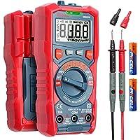 AstroAI Digital multimeter, 4 000 räkningar TRMS auto-räckvidd volt meter 1,5 V/9 V/12 v batteri spänning testare…