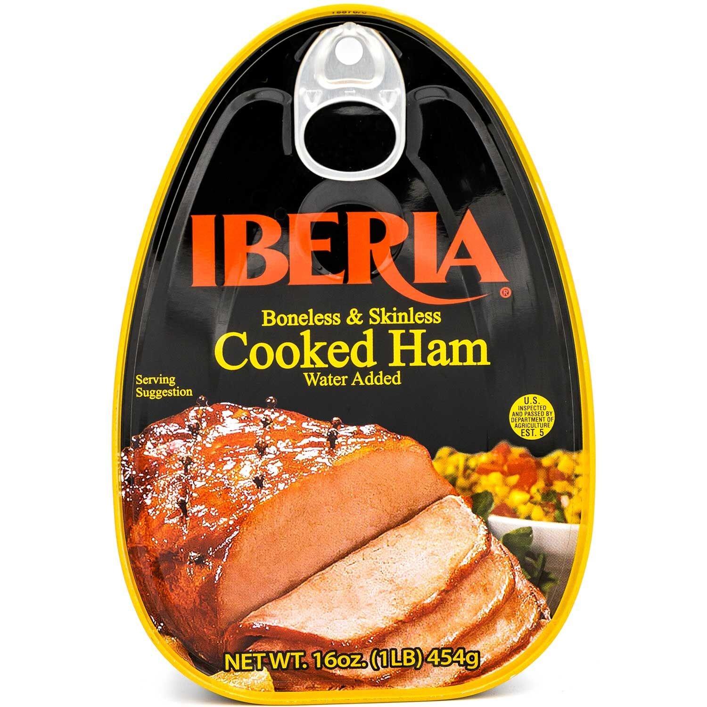Iberia Boneless & Skinless Cooked Ham, 16 oz